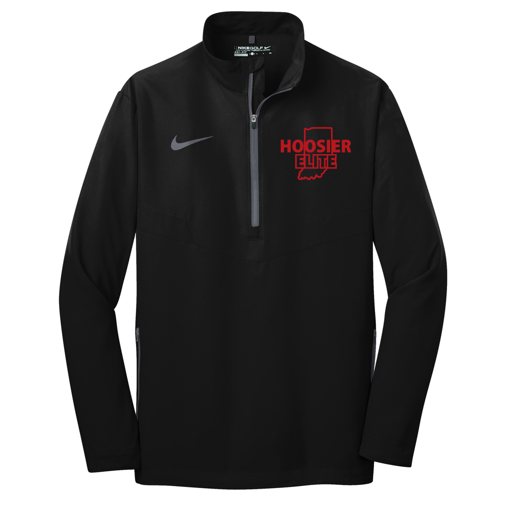 Hoosier Elite Basketball Nike 1/2 Zip Wind Shirt