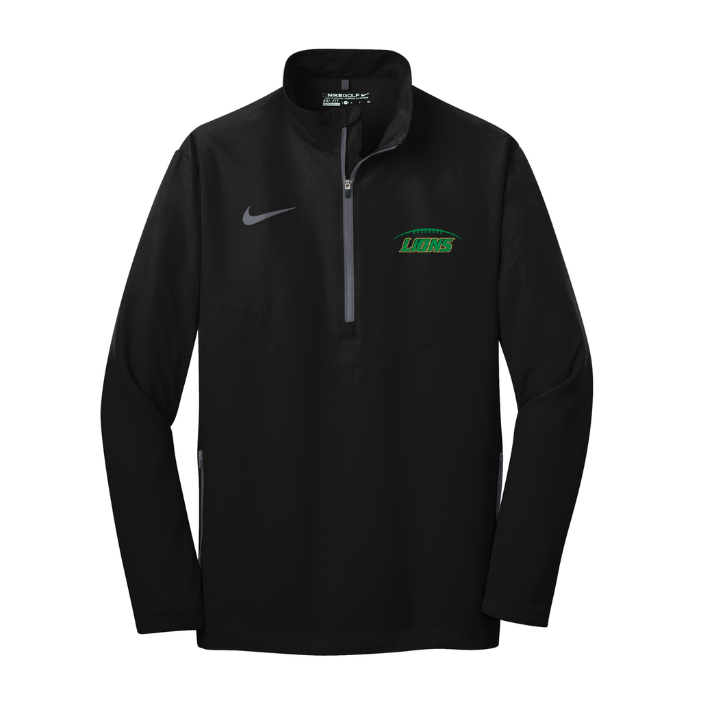 Lanierland Lions Football Nike 1/2 Zip Wind Shirt