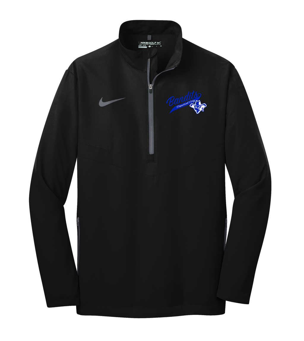 Capital City Baseball Nike 1/2 Zip Wind Shirt