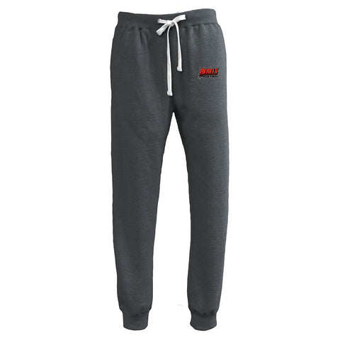 Rebels Lacrosse Black Heather Joggers