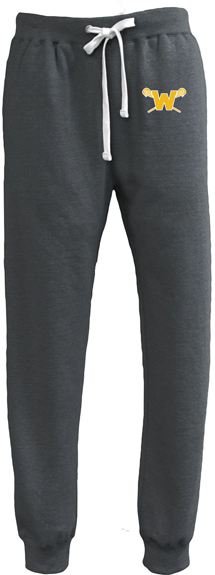 Webster Lacrosse Men's Black Heather Joggers