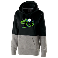 Michigan Blast Elite Baseball Women's Colorblock Hoodie