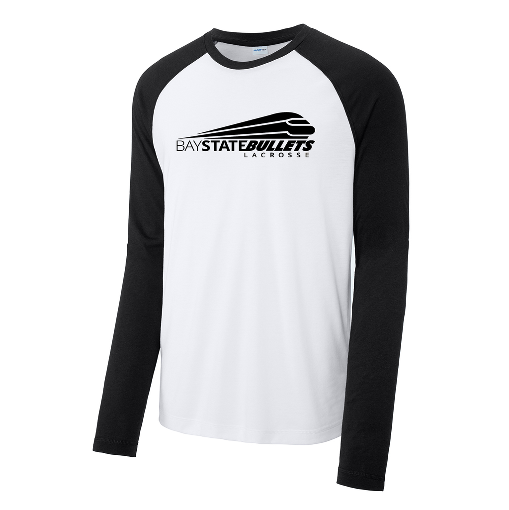 Bay State Bullets Long Sleeve Raglan CottonTouch