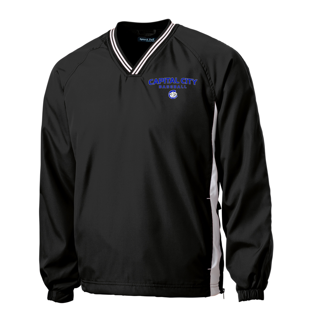 Capital City Baseball V-Neck Pullover
