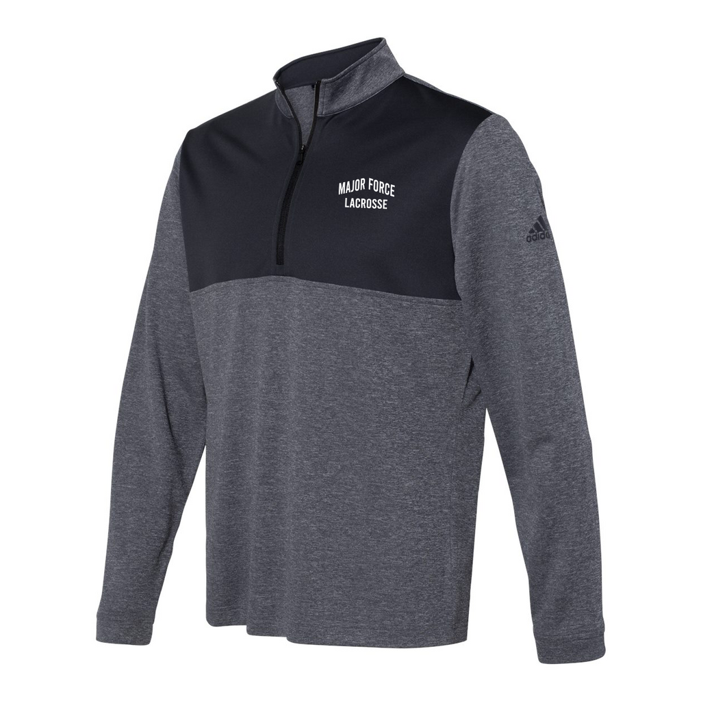 Major Force Lacrosse Adidas Lightweight Quarterzip Pullover