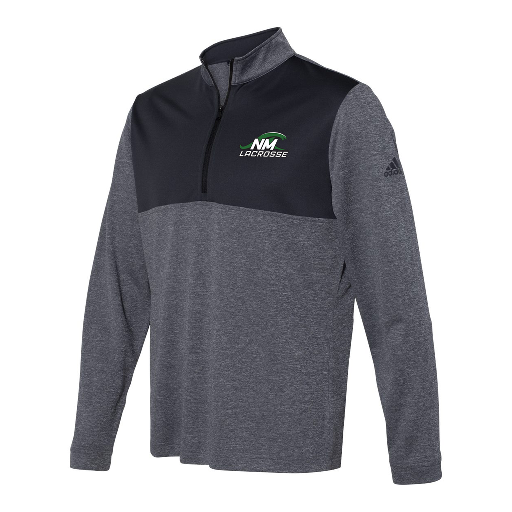 New Milford Youth Lacrosse Adidas Lightweight Quarterzip Pullover