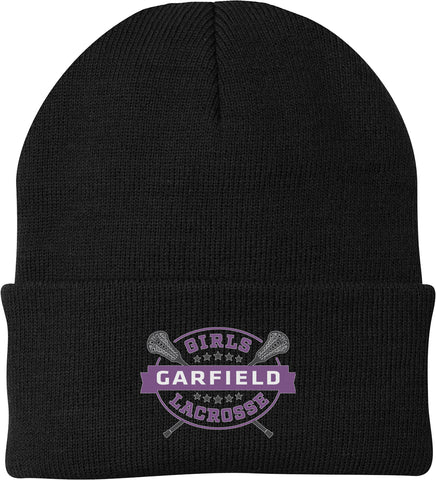 Garfield Black Knit Beanie