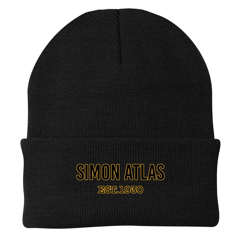 Simon Atlas  Knit Beanie