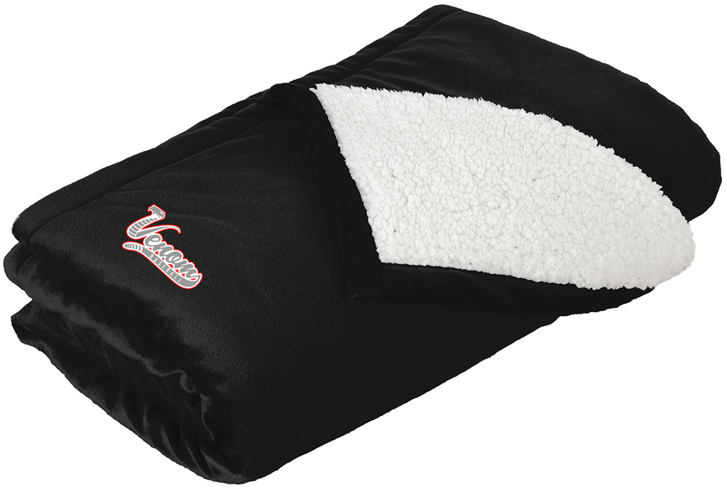 Valley Venom Baseball Blanket