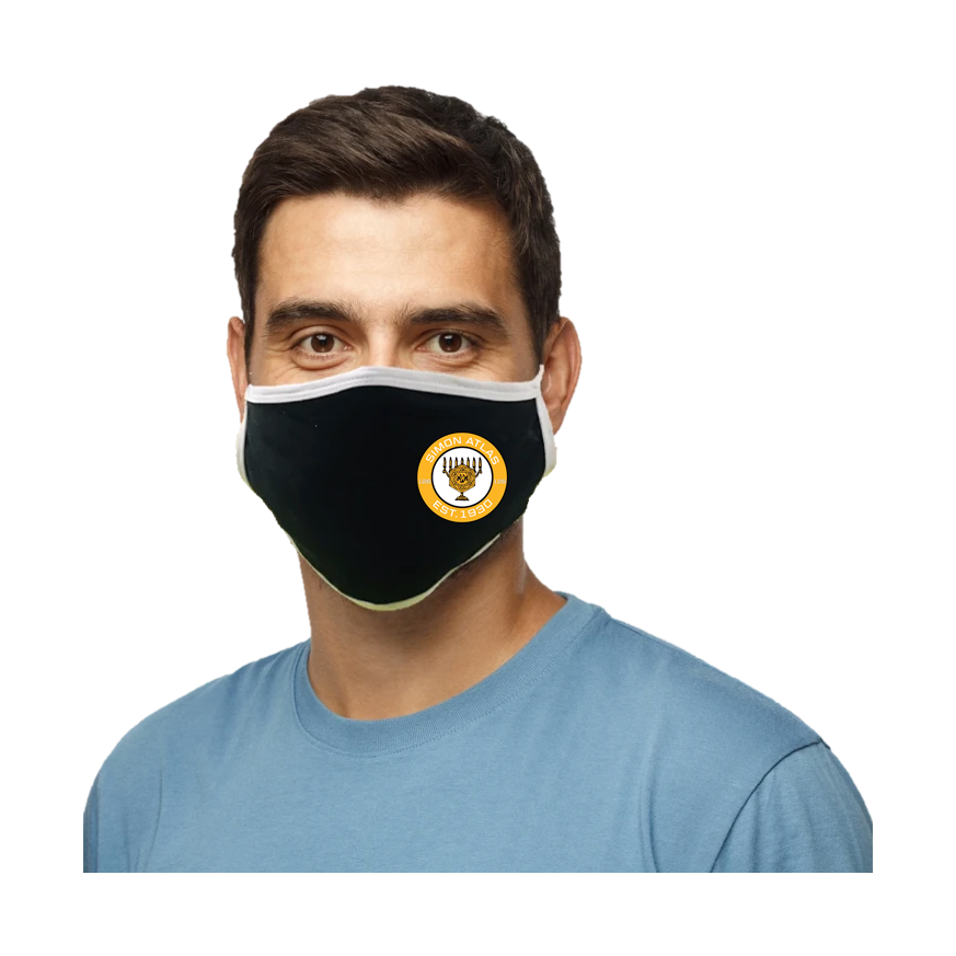 Simon Atlas Blatant Defender Face Mask - Black