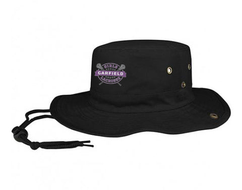 Garfield Black Bucket Hat