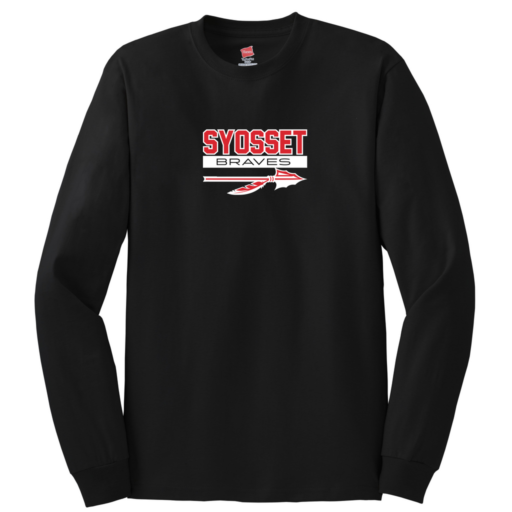 Syosset Braves Cotton Long Sleeve