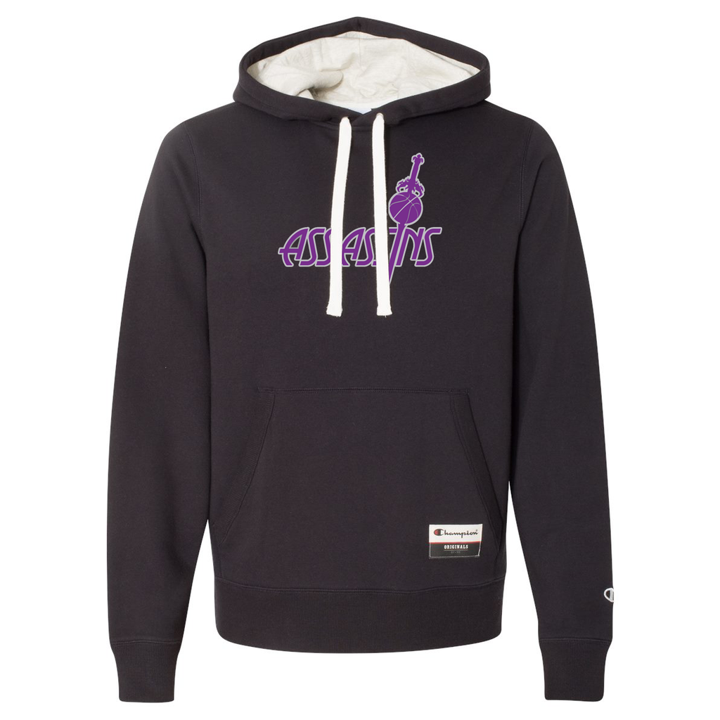 Assassins Basketball Champion Suede Fleece Hoodie
