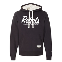 Rebels Lacrosse Champion Suede Fleece Hoodie