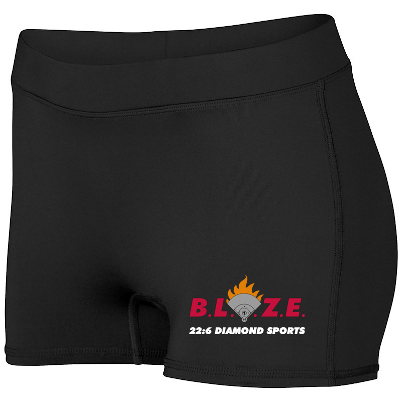 BLAZE 22:6 Diamond Sports Women's Compression Shorts
