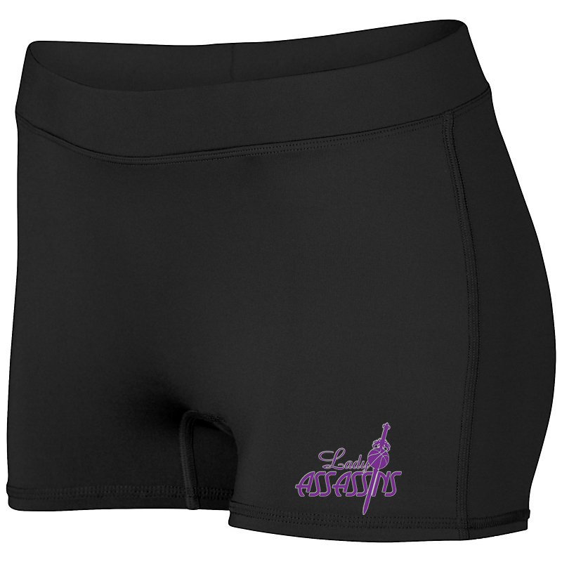 Lady Assassins Basketball Women's Compression Shorts
