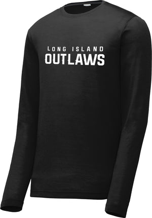 Outlaws Long Sleeve CottonTouch Performance Shirt