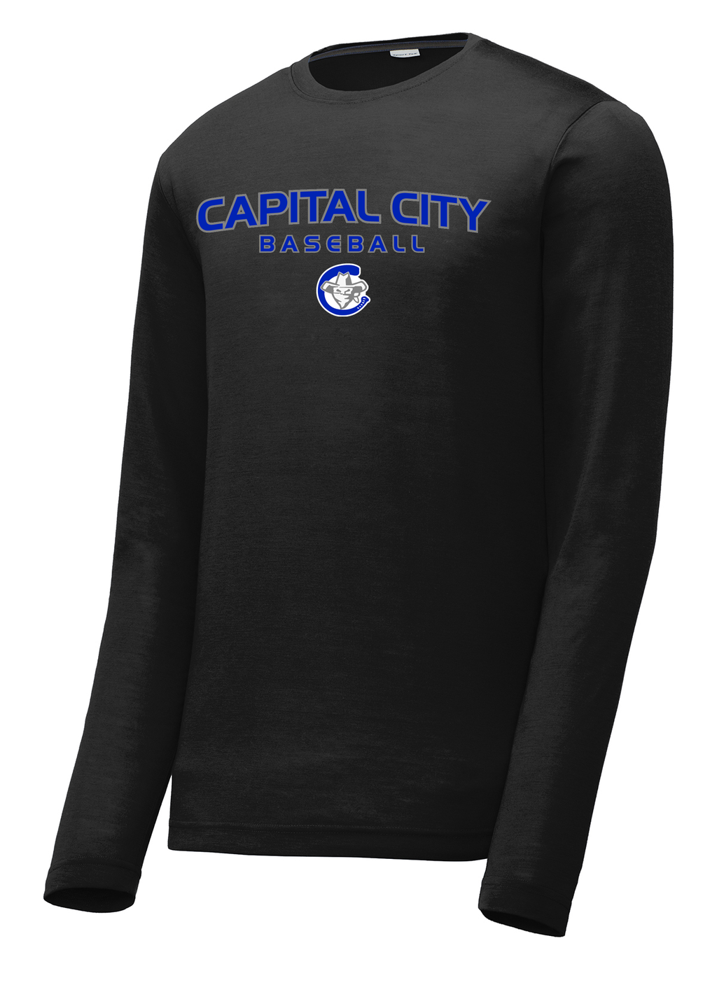 Capital City Baseball  Long Sleeve CottonTouch Performance Shirt