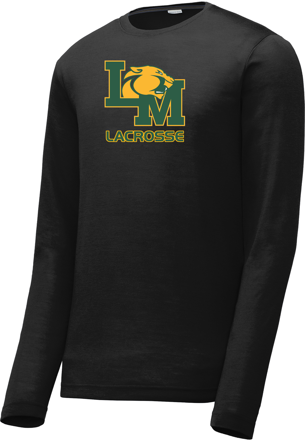 Little Miami Lacrosse Black Long Sleeve CottonTouch Performance Shirt