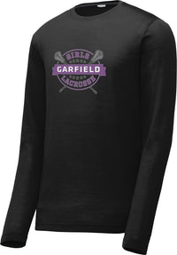Garfield Black Long Sleeve CottonTouch Performance Shirt