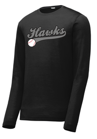 Hawks Baseball Long Sleeve CottonTouch Performance Shirt