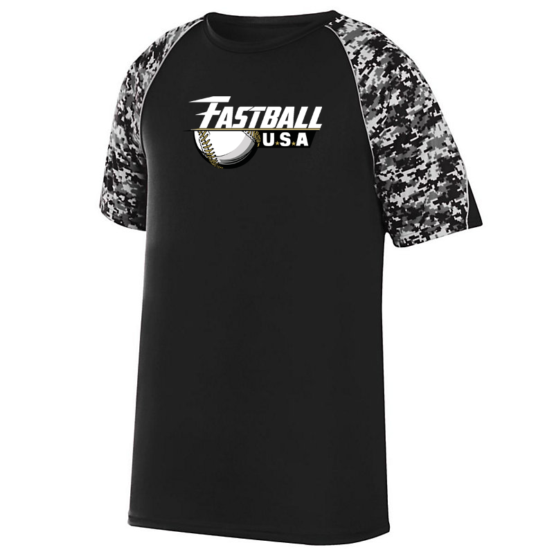 Team Fastball Baseball Digi-Camo Performance T-Shirt