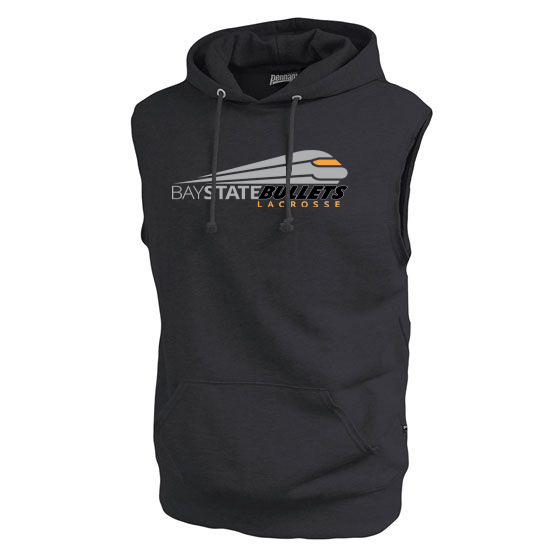 Bay State Bullets Fleece Sleeveless Hoodie