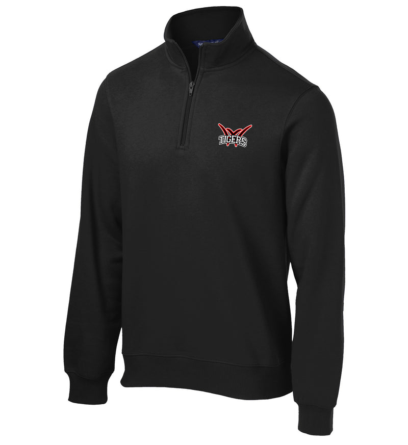 Willard Tigers Baseball 1/4 Zip Fleece