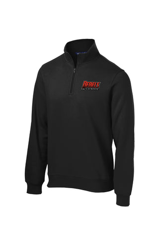 Rebels Lacrosse 1/4 Zip Fleece (Black)