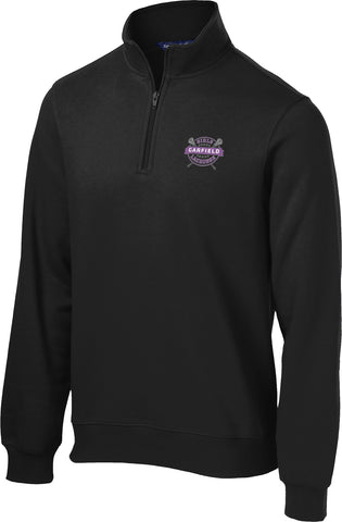 Garfield Black 1/4 Zip Fleece