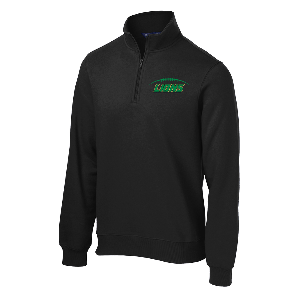 Lanierland Lions Football 1/4 Zip Fleece