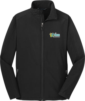 Frog Girls Lacrosse Black Soft Shell Jacket