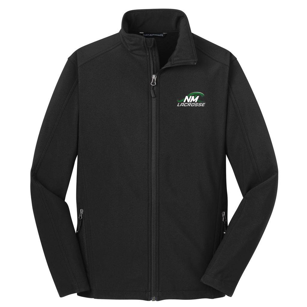 New Milford Youth Lacrosse Soft Shell Jacket