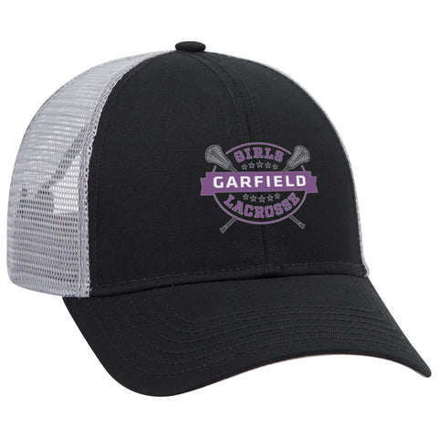 Garfield Black Trucker Hat