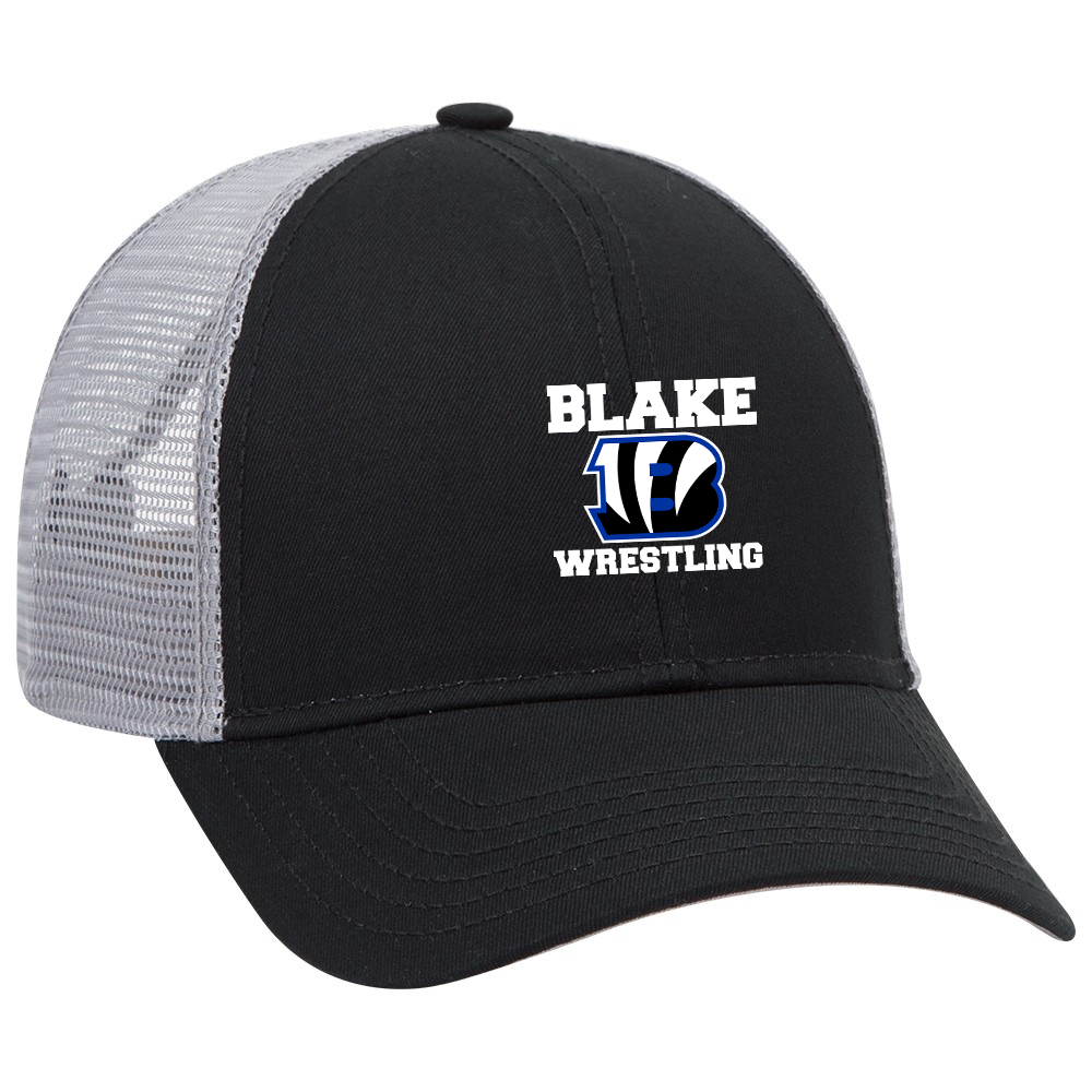 Blake Wrestling Trucker Hat