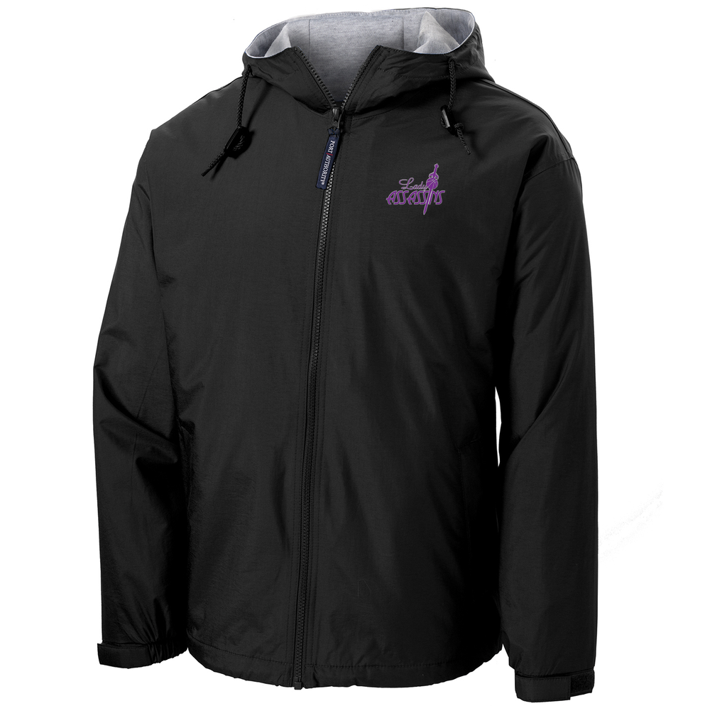 Lady  Assassins Basketball Hooded Jacket