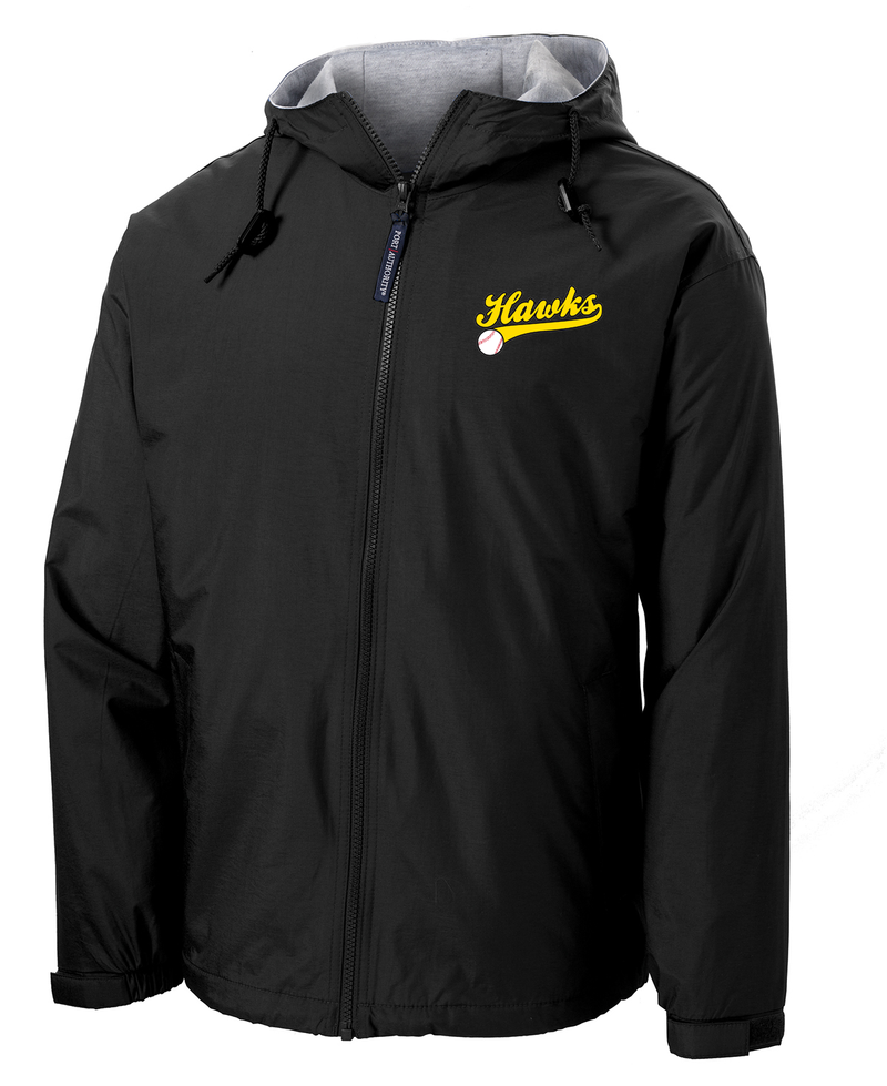 Hawks Baseball Hooded Jacket