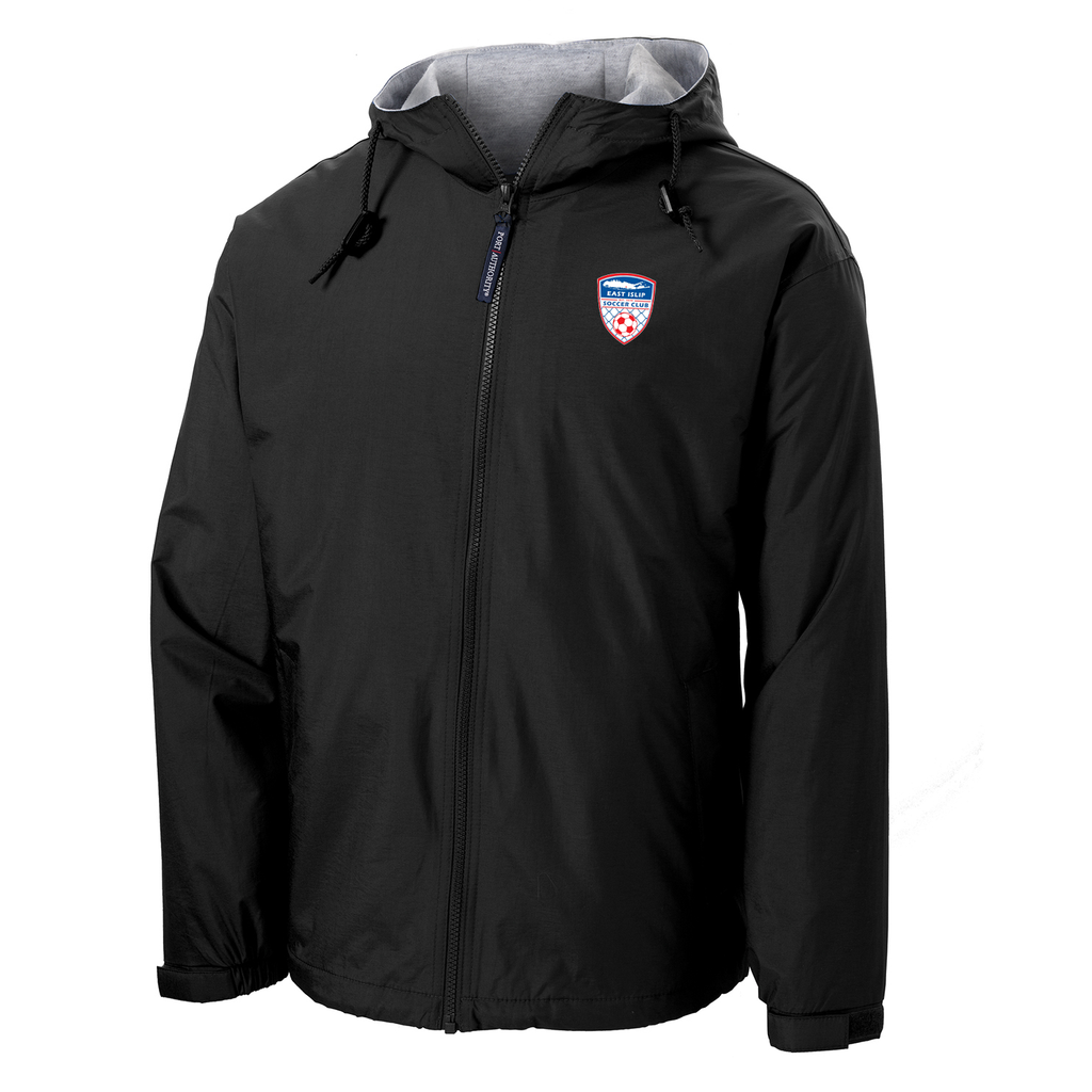 East Islip Soccer Club  Hooded Jacket