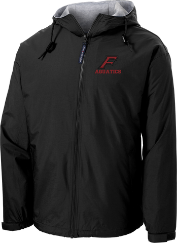 Farmington Aquatics Black Hooded Jacket