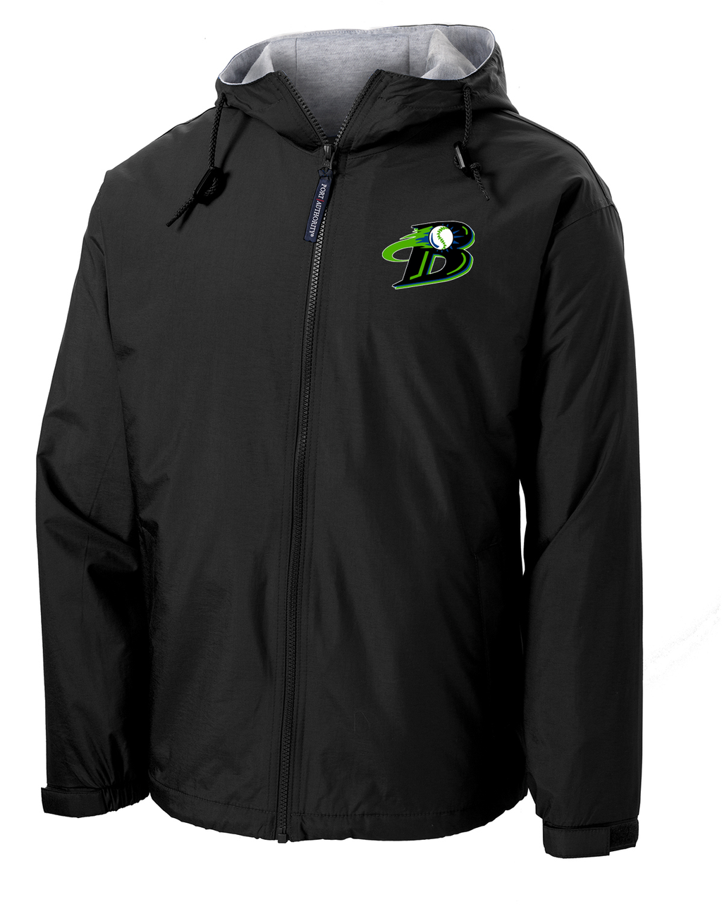 Michigan Blast Elite Baseball Hooded Jacket