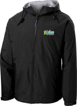 Frog Girls Lacrosse Black Hooded Jacket