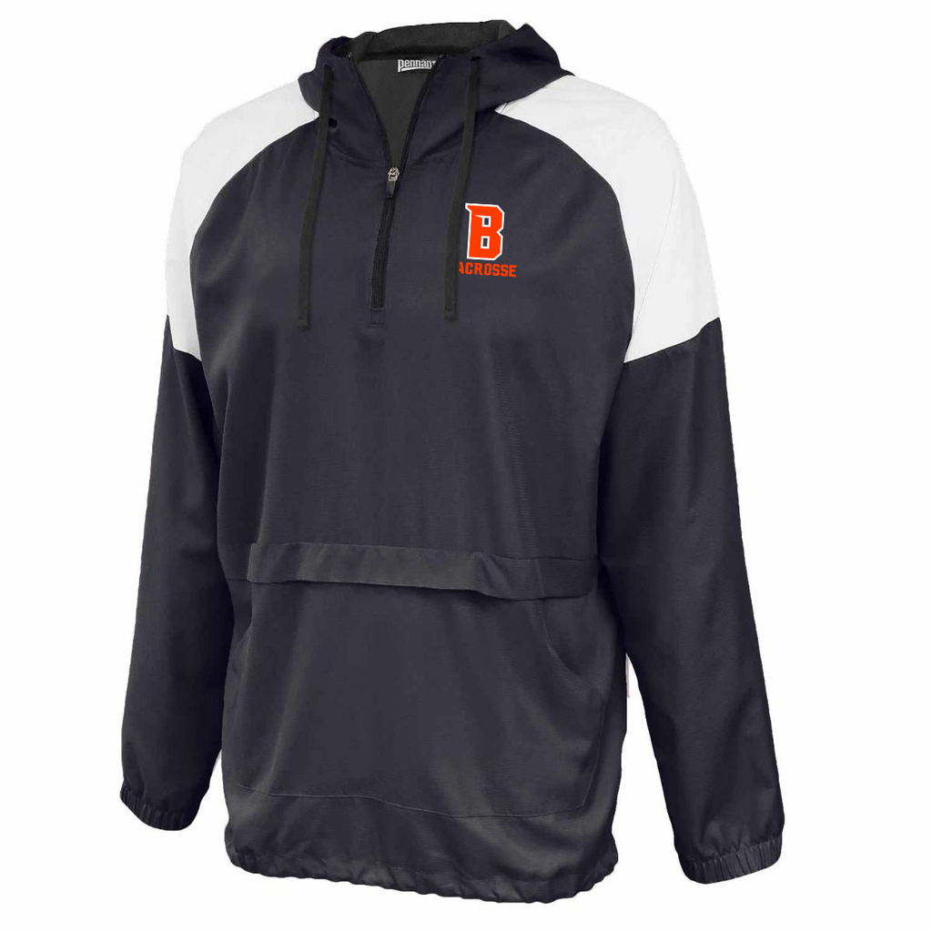 Babylon Lacrosse Anorak Hooded Quarterzip
