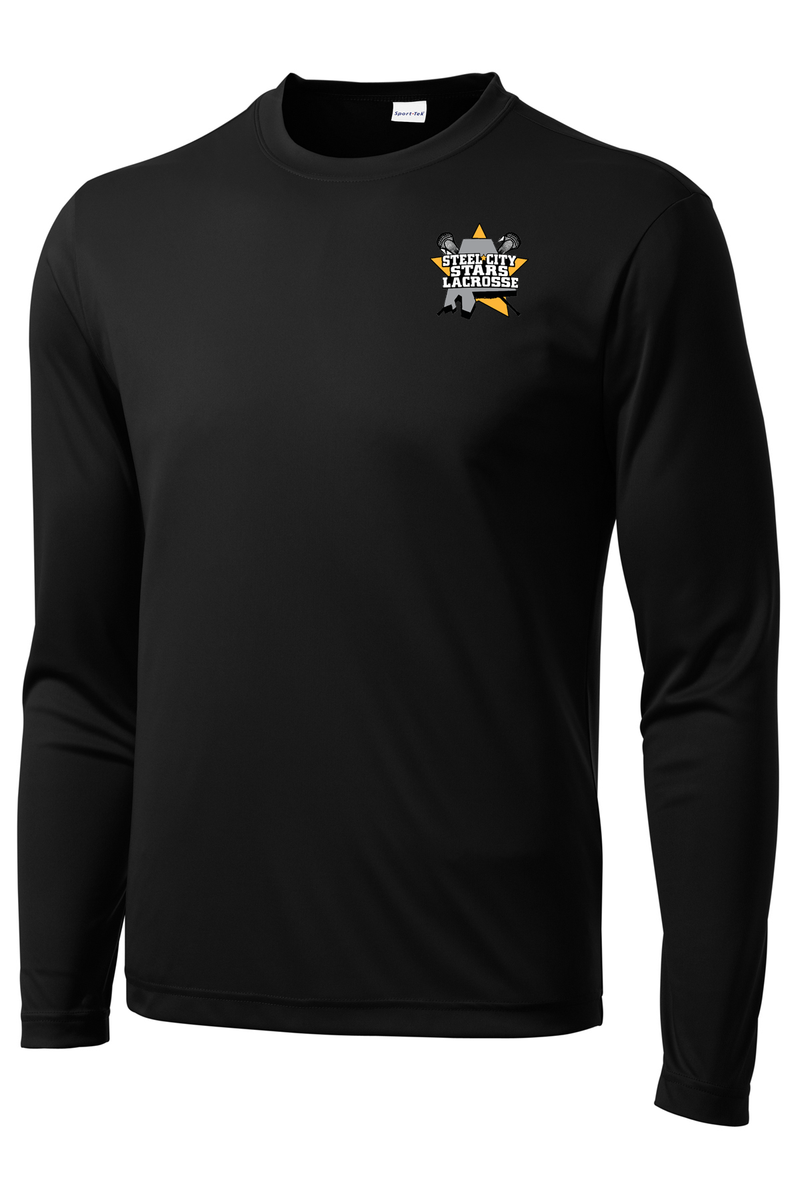 Stars Lacrosse Long Sleeve Performance Shirt