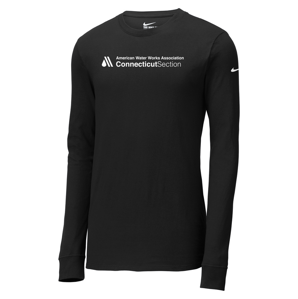 AWWA Connecticut Section Nike Core Cotton Long Sleeve Tee