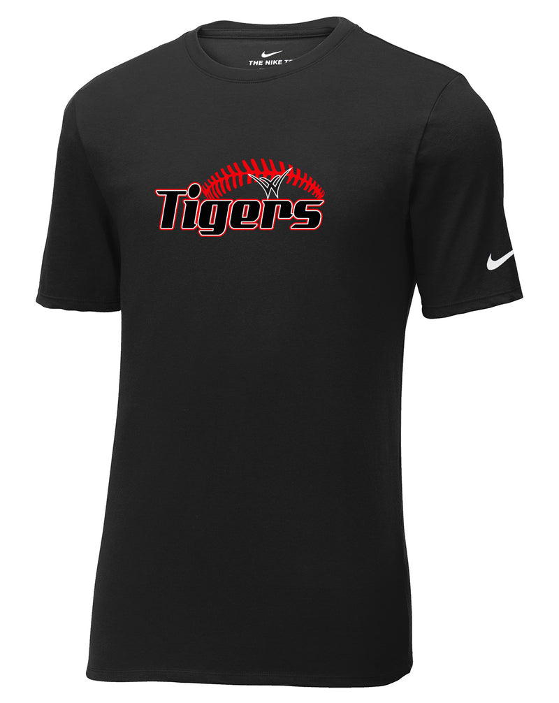 Willard Tigers Baseball Nike Core Cotton Tee