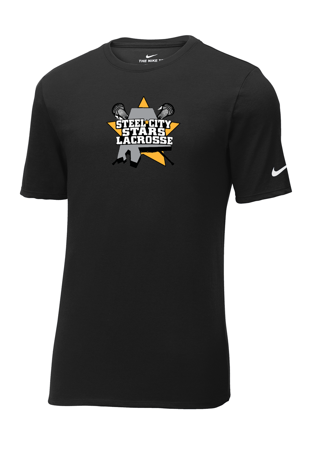 Stars Lacrosse Nike Core Cotton Tee