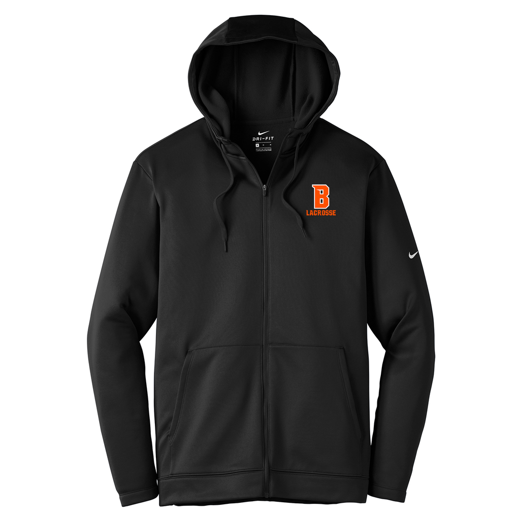 Babylon Lacrosse Nike Therma-FIT Full Zip Hoodie