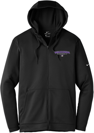 Wauconda Baseball Nike Therma-FIT Full Zip Hoodie