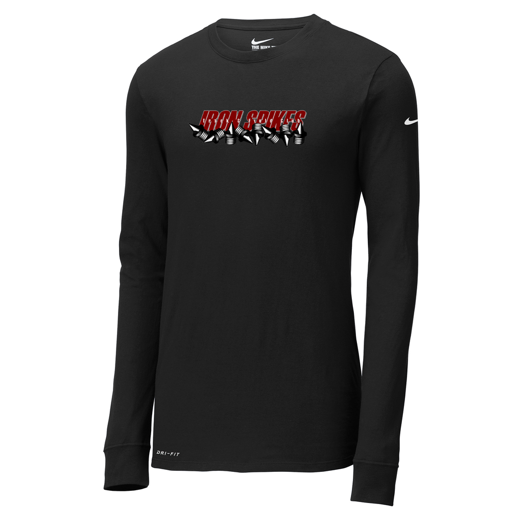 Iron Spikes Track & Field Nike Dri-FIT Long Sleeve Tee