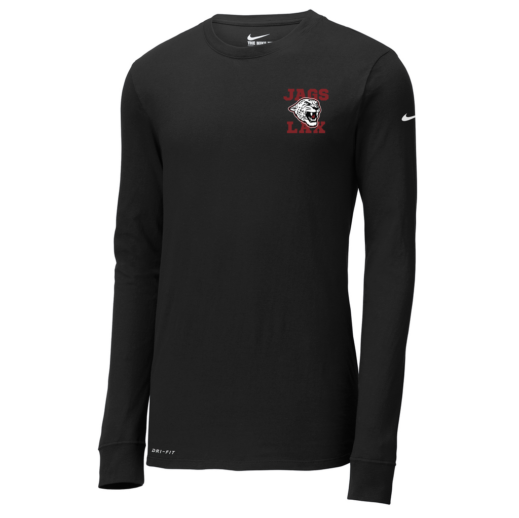 Jags Lacrosse Nike Dri-FIT Long Sleeve Tee